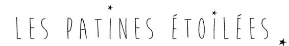 Logo Les Patines étoilée, meubles et objects anciens revisités